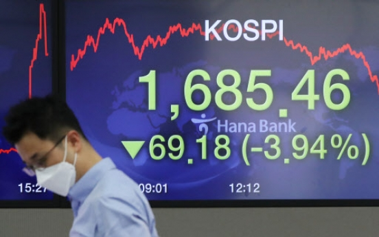 Seoul stocks likely to suffer extended slump this week