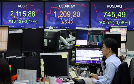 Seoul stocks open lower on coronavirus resurgence fears