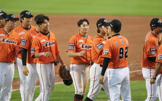 With veterans set to return, Hanwha Eagles looking to take off in KBO