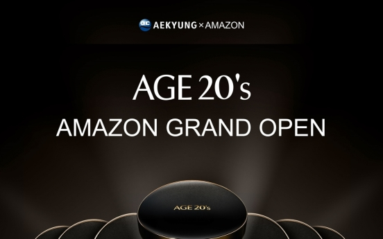 Aekyung launches flagship cosmetics brand Age 20's on Amazon