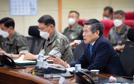 S. Korea pushing to spend more on home-grown weapons: defense chief