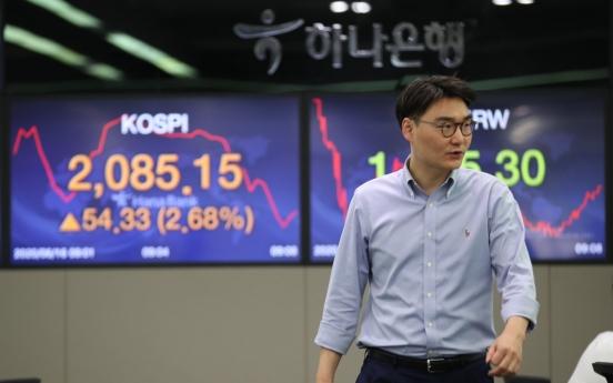Seoul stocks open higher on Fed's bond purchase plan