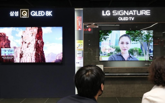 Chinese TV makers outstrip Korean firms in Q2: report