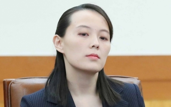 Derision, invectives against Moon by NK leader's sister draw ire of S. Korea
