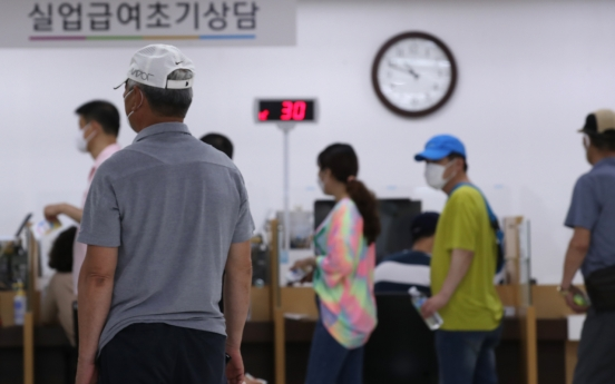 [News Focus] 1 in 7 Koreans de facto jobless since March