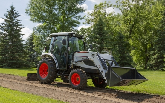 Doosan Bobcat basks in robust sales in N. American tractor market