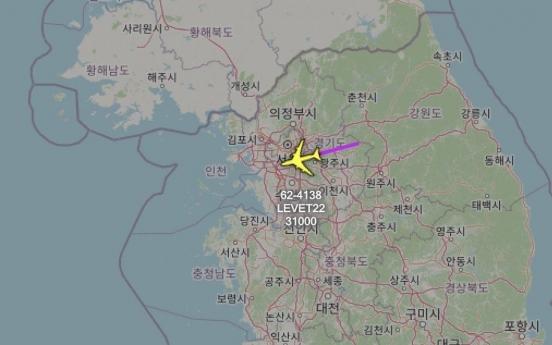 US flies spy plane over Korean Peninsula to monitor N. Korea