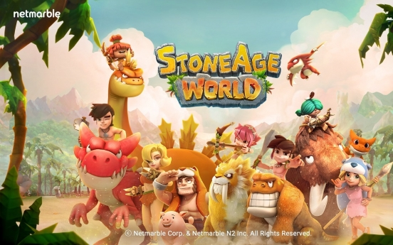 Netmarble's StoneAge World ranks No. 1 on Apple's App Store in S. Korea