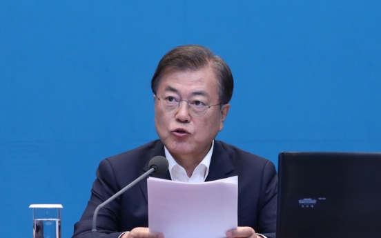 Moon to hold virtual summit with EU leaders on June 30