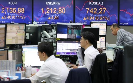 Seoul stocks open lower amid virus fears, NK risks