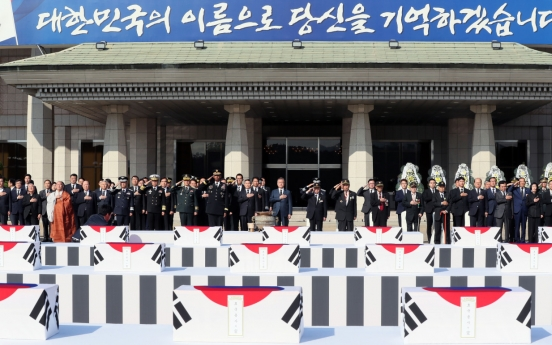 147 Korean War remains to return home