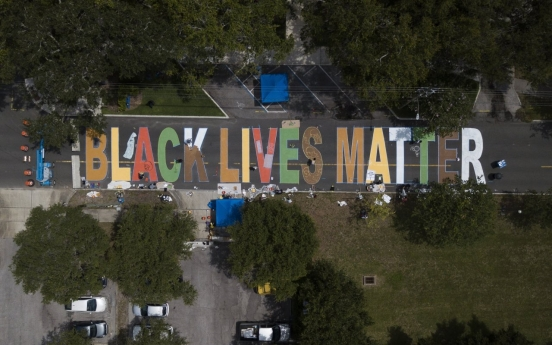 [Photo News] Art to support Black Lives Matter