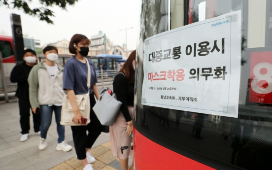 Man arrested for assaulting bus driver demanding face mask use