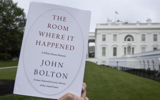 Trump, Kim didn't want Moon at Panmunjom meeting: Bolton memoir