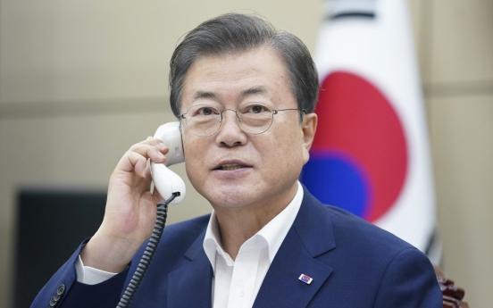In summit call, S. Korea, Turkey agree on closer economic ties, coronavirus cooperation