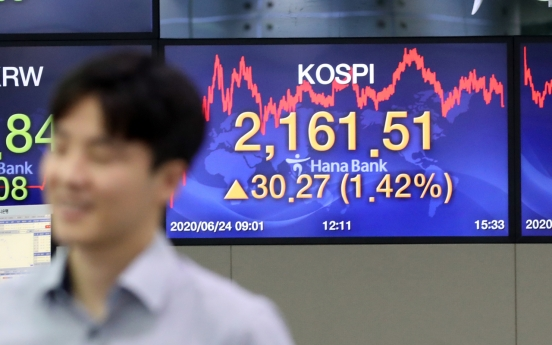 Seoul stocks close 1.42% higher on economic recovery hope, N. Korean relief