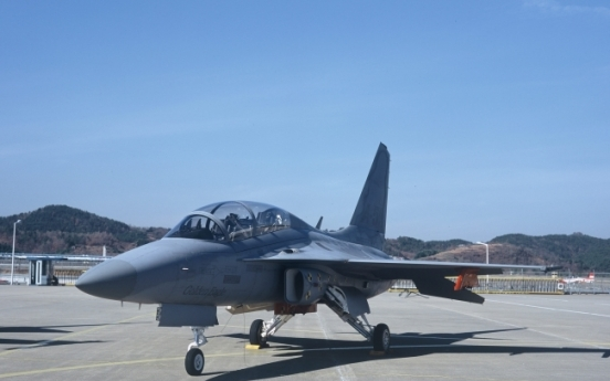 KAI seeks to supply 20 TA-50 fighters to Air Force