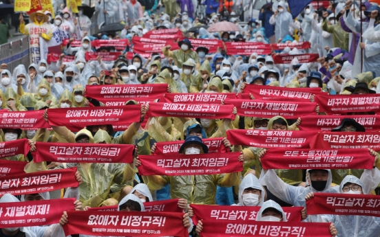 Labor union plans mass rally amid virus worries