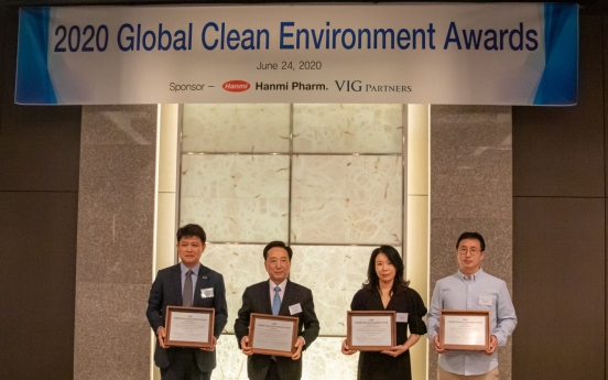 Tennessee wins 2020 Global Clean Environment Prize