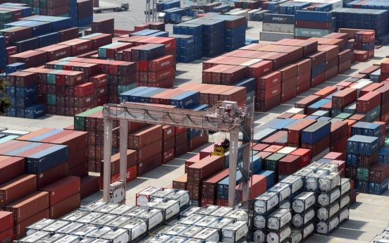 S. Korea's trade terms improve in May on low oil prices
