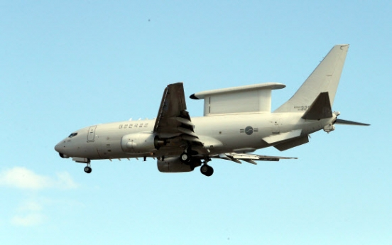 S. Korea to introduce more early warning aircraft from overseas