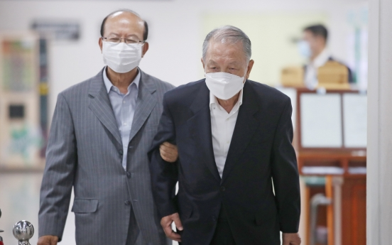 Court cuts prison term of ex-presidential aides in retrial of 'white list' case