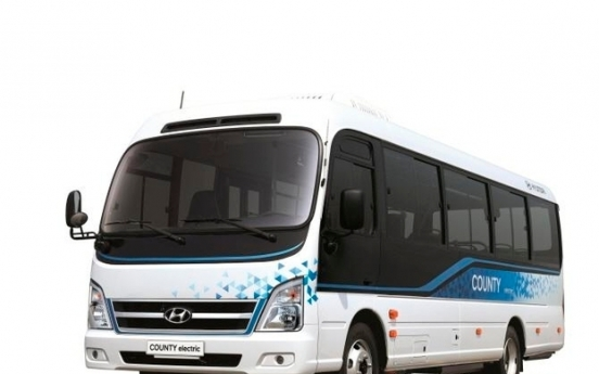 Hyundai Motor rolls out eco-friendly electric bus