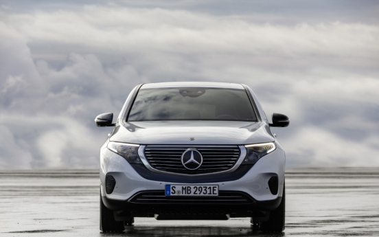 Mercedes-Benz Korea launches newest EV