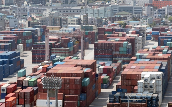 S. Korea's exports decline for 4 straight months amid pandemic, but pace slows as economies reopen