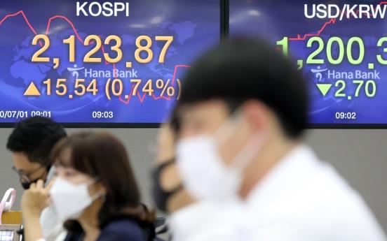 Seoul stocks open higher on Wall Street