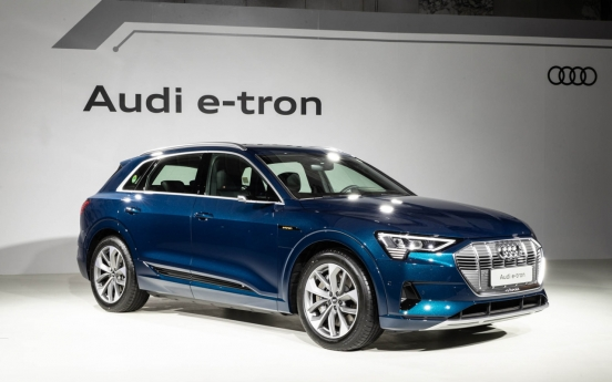 Audi's first electric SUV e-tron 55 quattro lands in Korea