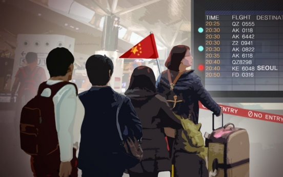 Number of Chinese tourists to S. Korea dips 30% over THAAD row