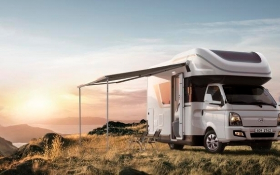 Hyundai Motor rolls out truck-based camping car