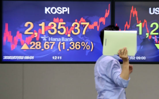 Seoul stocks close higher on recovery hopes