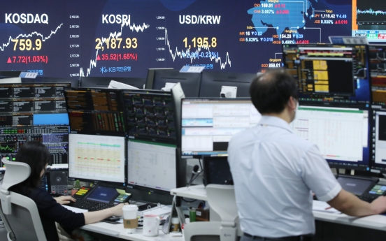 Seoul stocks rally on recovery hope, coming earnings report season