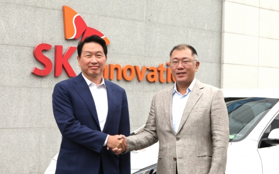 Hyundai Motor, SK chiefs vow to bolster EV biz partnership