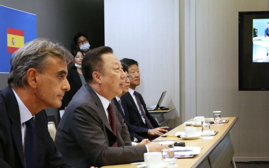 Korea, Spain discuss cooperation in digital, green tech