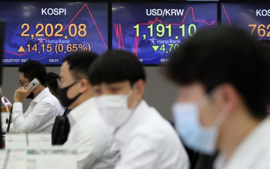Seoul stocks open nearly flat following Wall Street losses