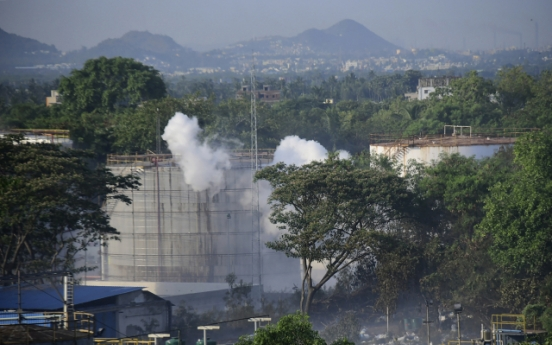 Indian police arrest two Korean executives of LG Polymers over deadly gas leak
