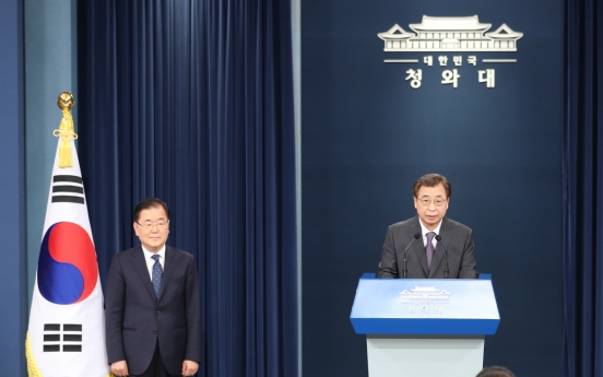 Top S. Korean, Japanese officials hold phone discussions on regional security