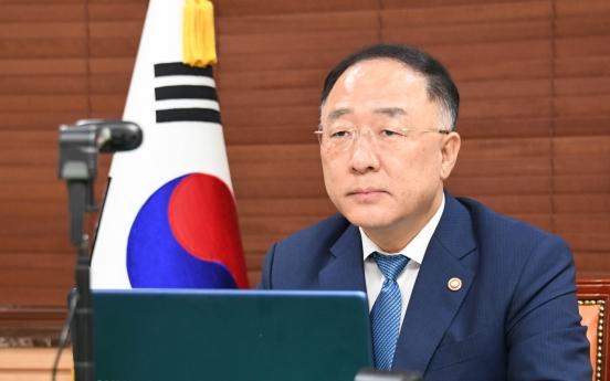 S. Korea calls for stronger global financial safety net