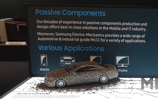 Samsung affiliate announces 5 new MLCCs for automobiles