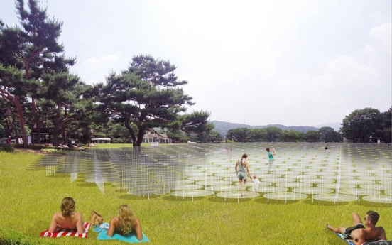MMCA Gwacheon to revitalize outdoor space with installation