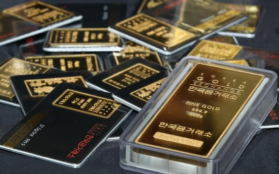 Korea's gold market turnover hits record high in July