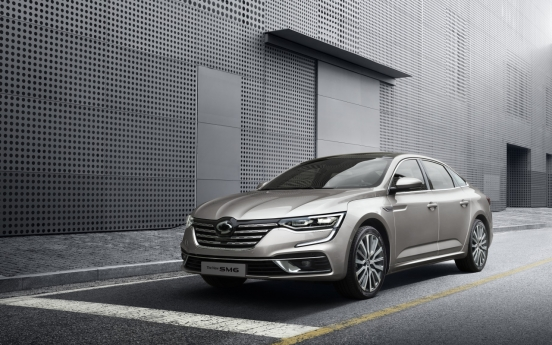 Renault Samsung Motors unveils face-lifted SM6