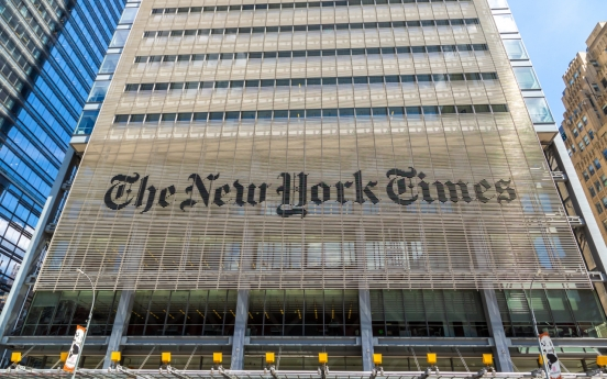 New York Times plans to move part of Hong Kong office to Seoul