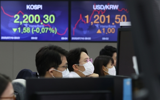 Seoul stocks open flat on recovery hopes, Sino-American risks