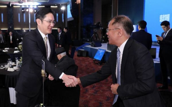 Leaders of Samsung, Hyundai Motor to meet again over car battery