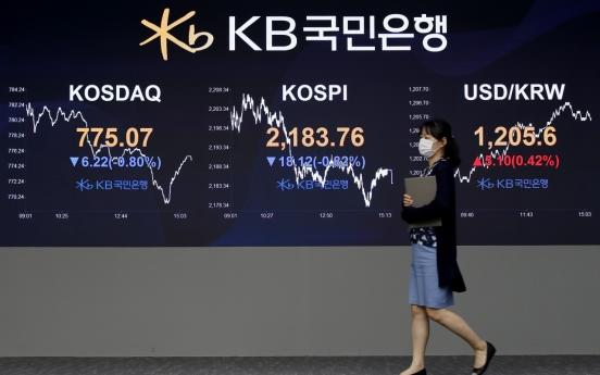 Seoul stocks close lower on profit-taking, mixed economic signals