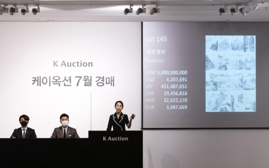 Painting album by Joseon master painter fails to find new owner